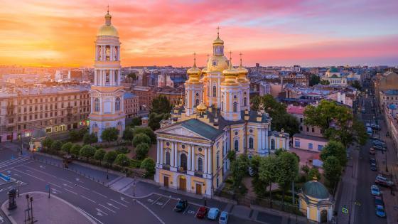 Vladimirskaya Church, Russia wallpaper