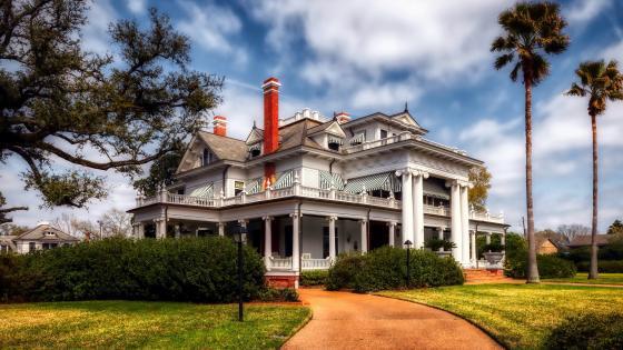 Mcfadden Ward House In Texas wallpaper