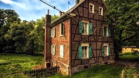Rural House wallpaper