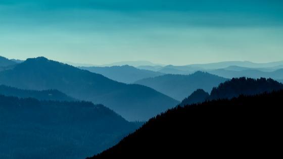 blue mountain wallpaper