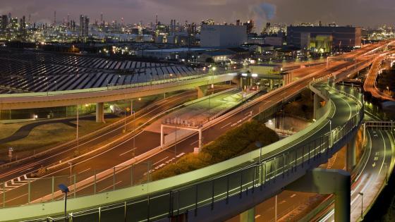 Kawasaki-Ukishima JCT wallpaper