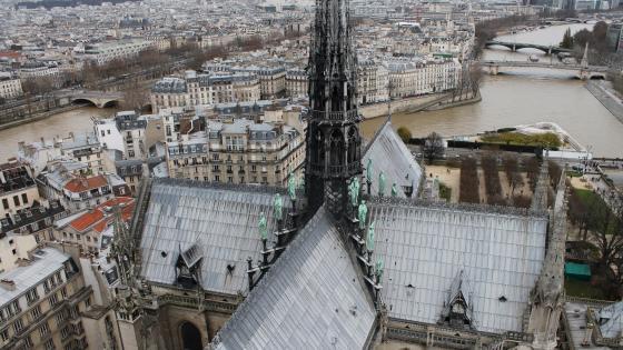 Cathédrale Notre-Dame de Paris wallpaper
