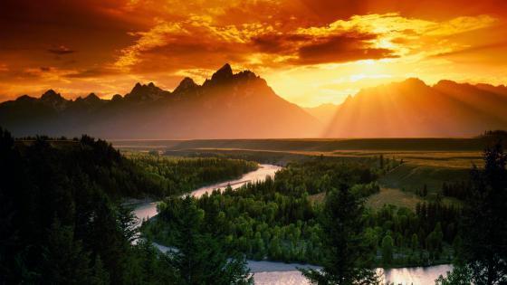 Snake River, Grand Teton National Park wallpaper