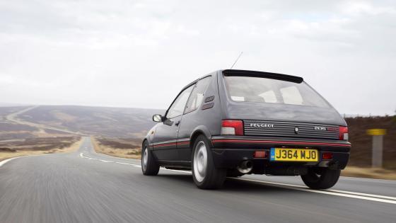 Peugeot 205 gti wallpaper