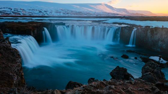 Godafoss wallpaper