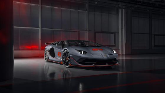 Lamborghini Aventador SVJ 63 Roadster wallpaper