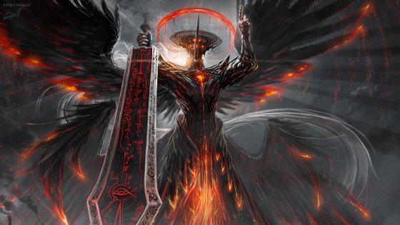 Fire Demon wallpaper