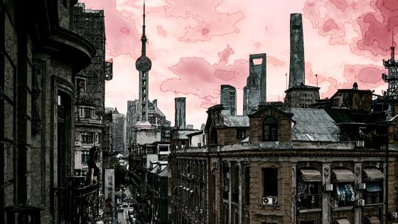 Grim City wallpaper