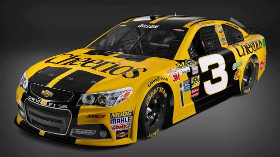 Chevrolet NASCAR race car wallpaper