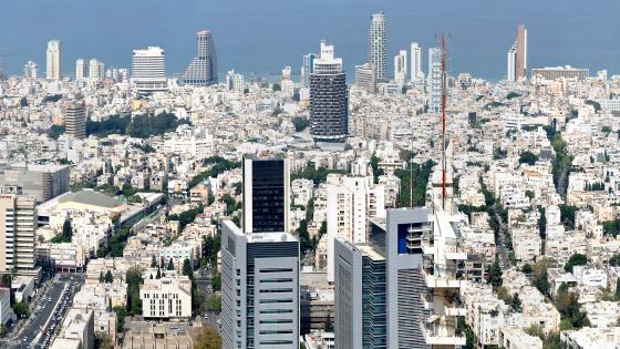 Tel Aviv-Yafo Cityscape wallpaper