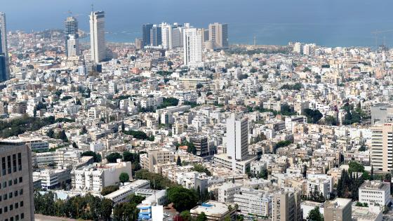 Tel Aviv Cityscape wallpaper