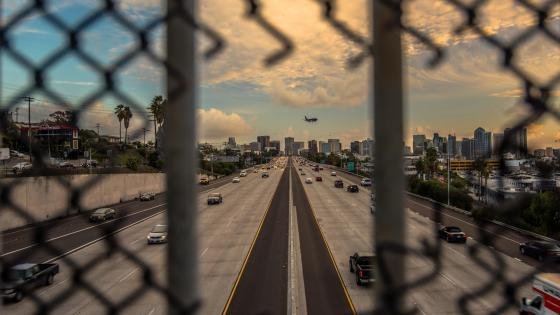Freeway in San Diego wallpaper