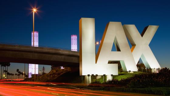 LAX Sign wallpaper