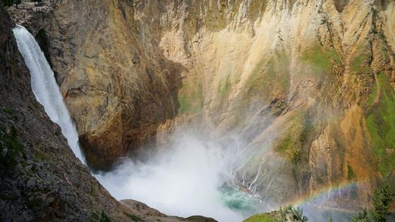Lower Falls of the Yellowstone wallpaper