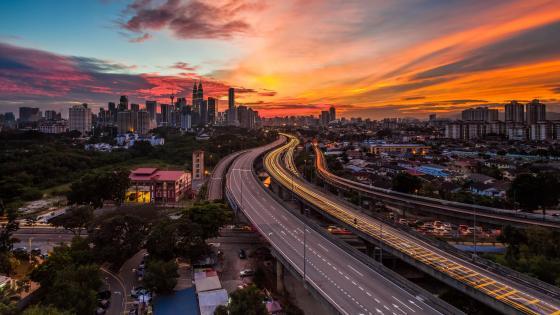 Ampang–Kuala Lumpur Elevated Highway in Kuala Lumpur wallpaper