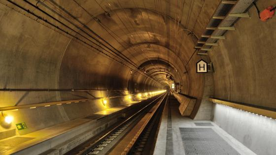Gotthard Base Tunnel wallpaper