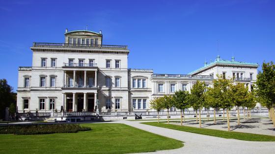 Villa Hügel wallpaper