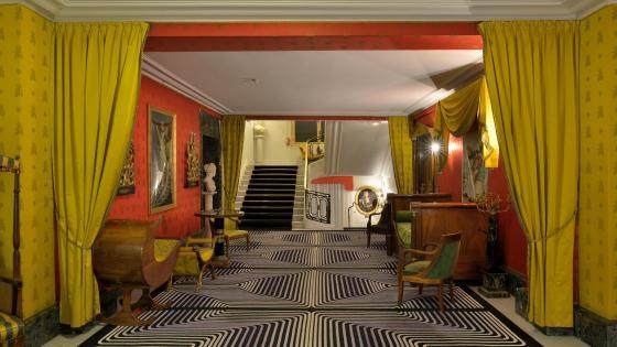 Interior Design of the Hotel Negresco wallpaper