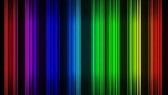 Neon stripes wallpaper