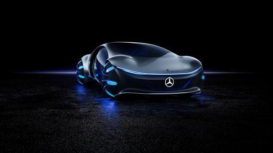Mercedes Benz Vision wallpaper
