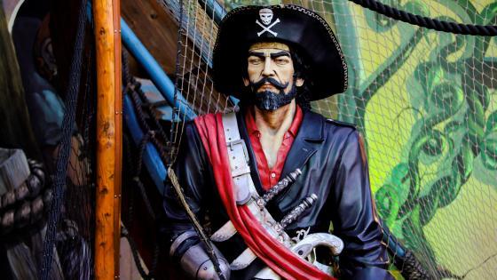 A Pirate captain wallpaper