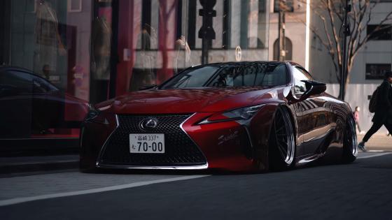 Lexus LS 500 wallpaper
