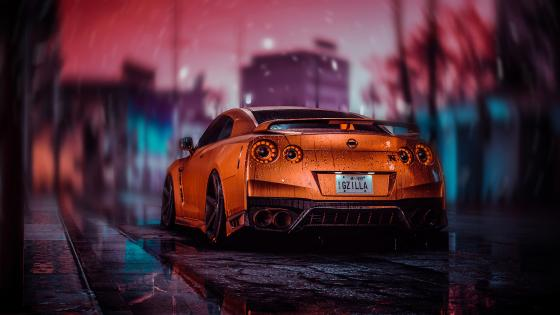 Modified Nissan GT-R wallpaper
