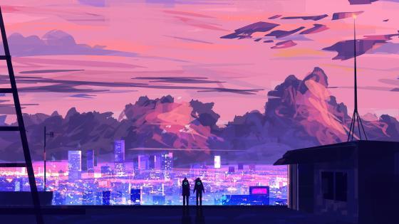 City Retina wallpaper