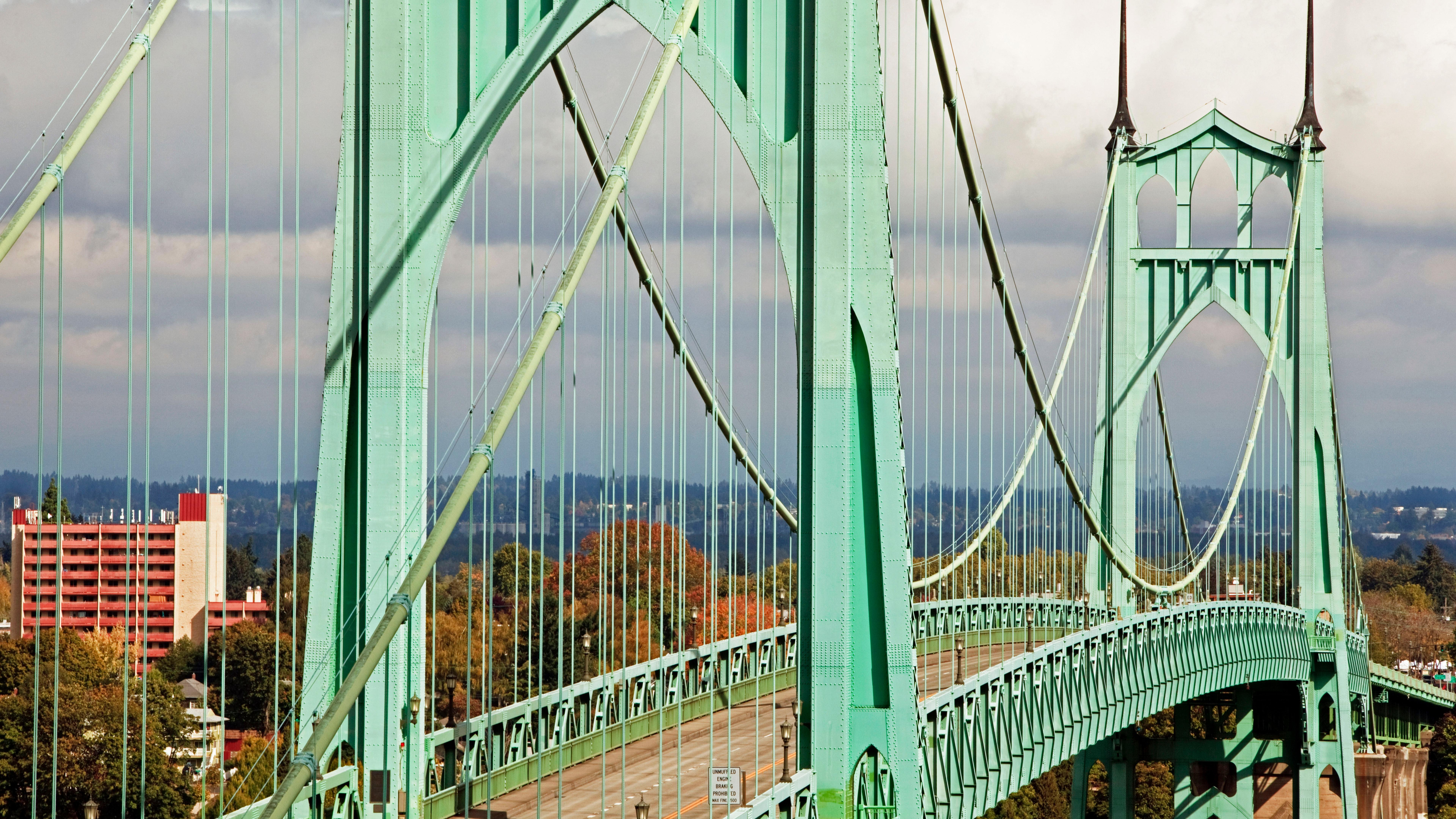 St. Johns Bridge wallpaper