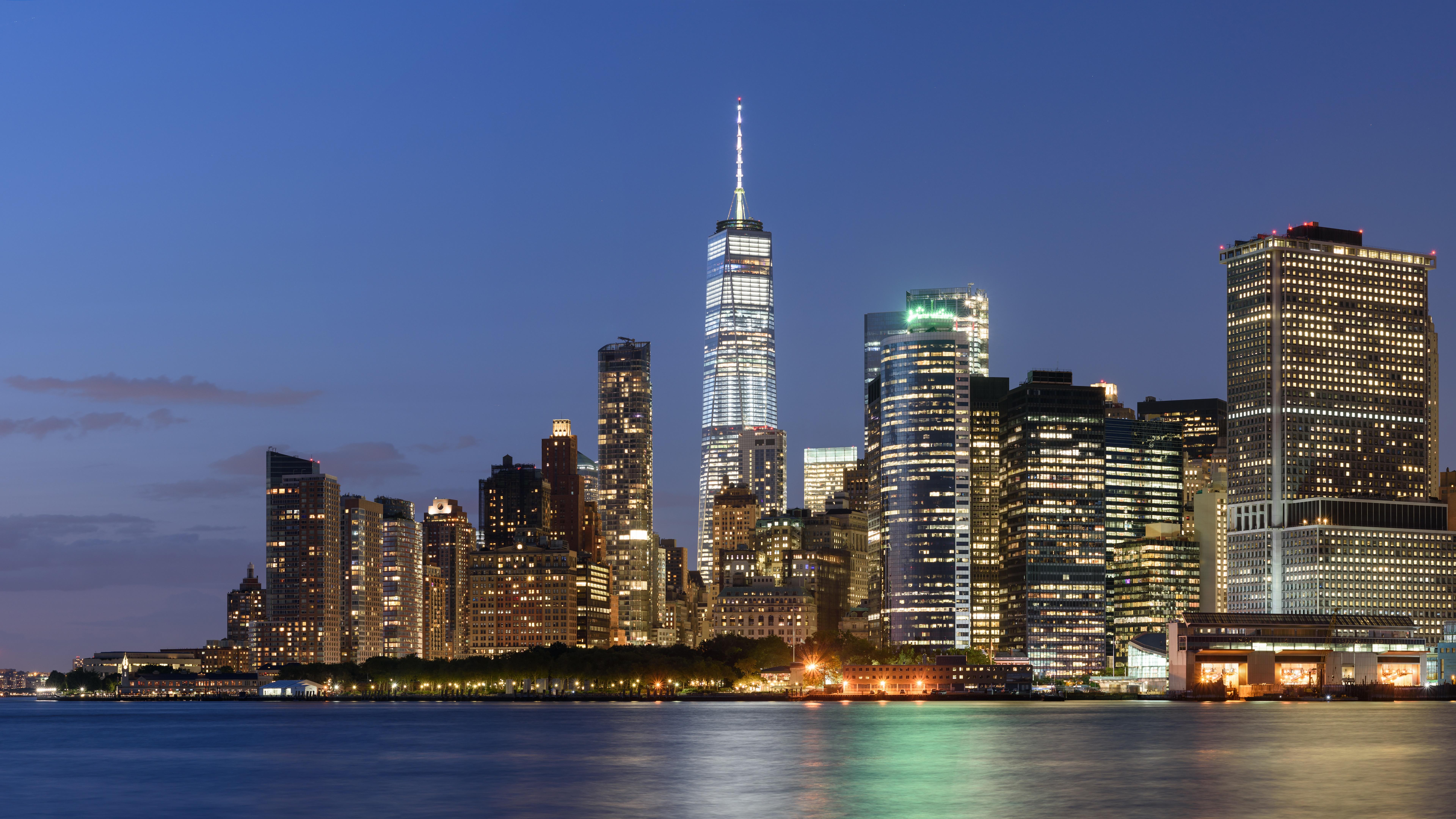Lower Manhattan Skyline wallpaper