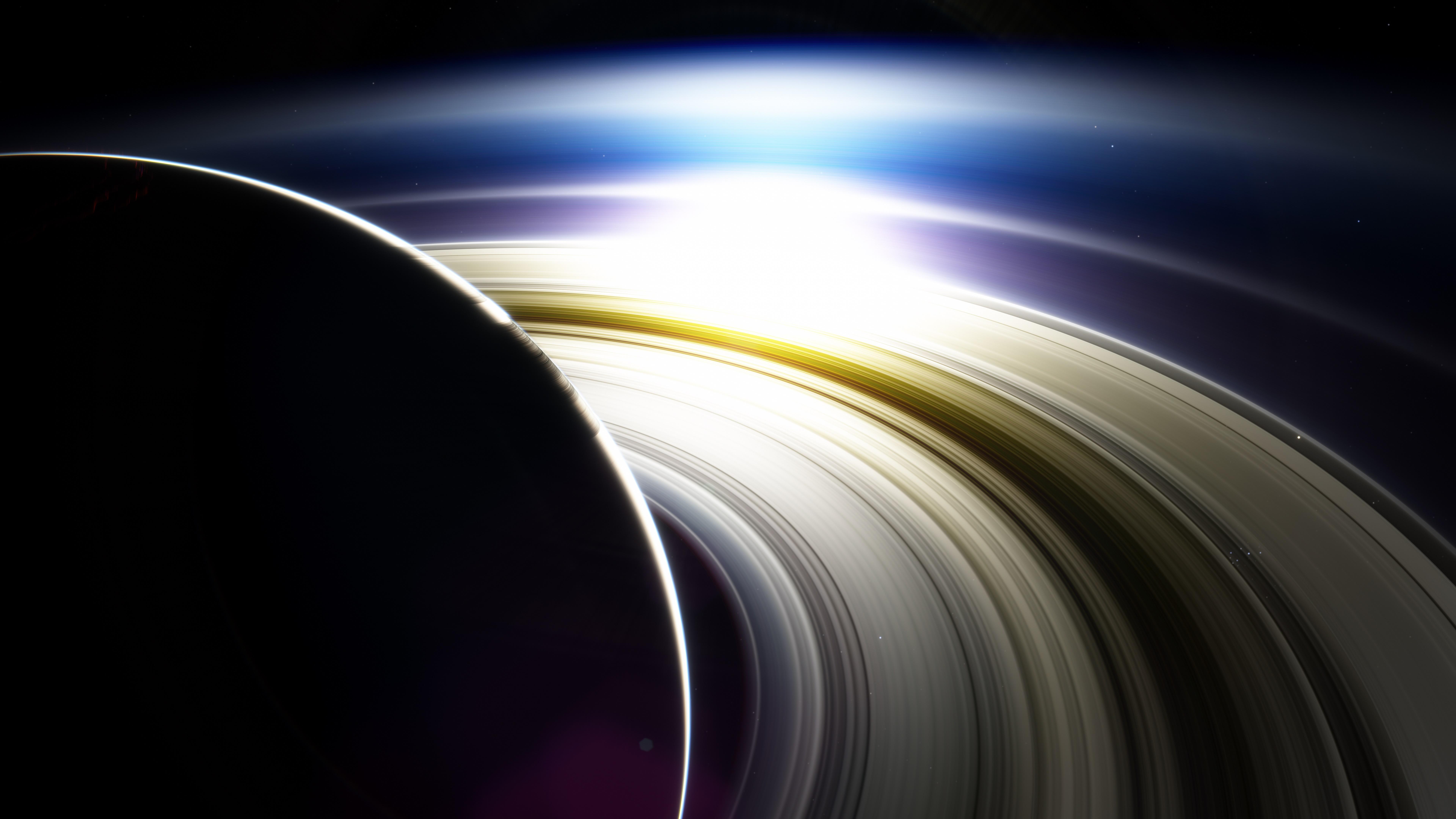 Rings of Saturn wallpaper