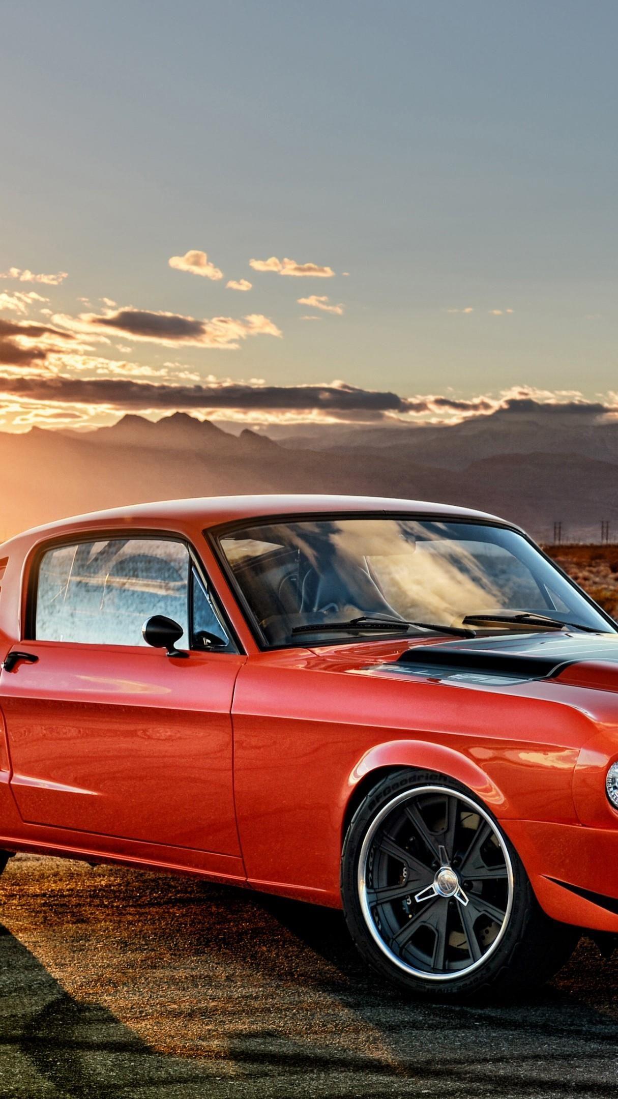 1968 Ford Mustang 4K UltraHD wallpaper - backiee
