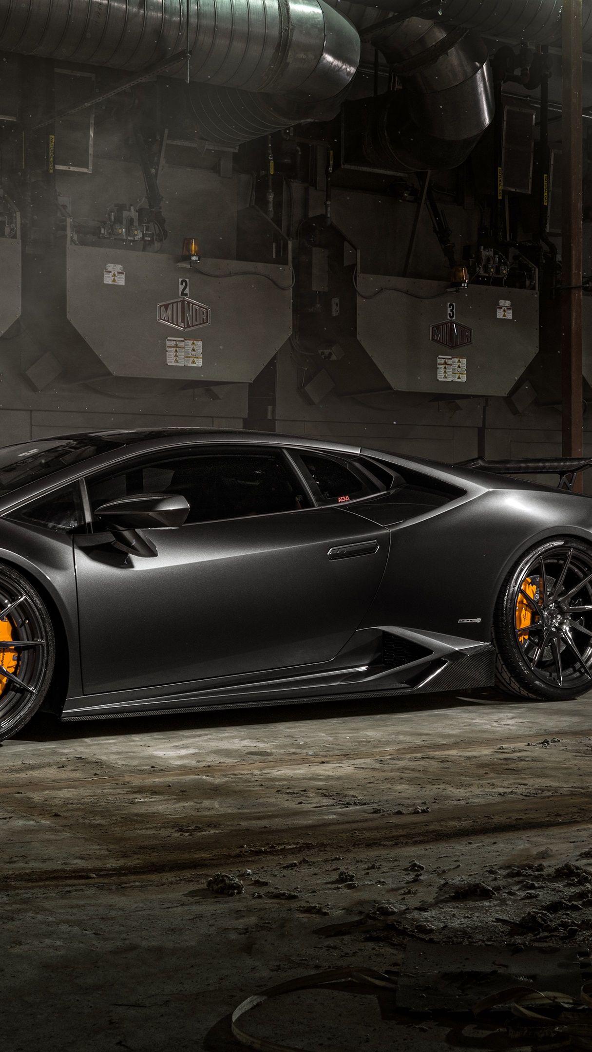 Black Lamborghini Huracan wallpaper - backiee