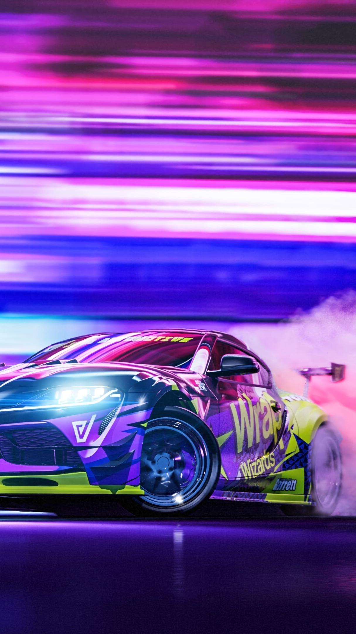 Toyota Supra drifting wallpaper - backiee