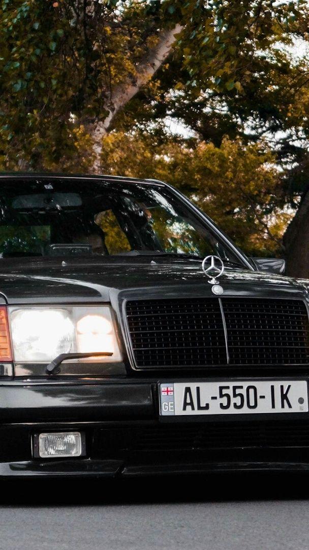 Mercedes W124 wallpaper - backiee